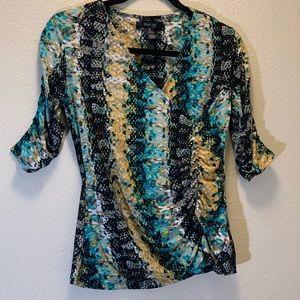 Style & Co.- Wrap Blouse